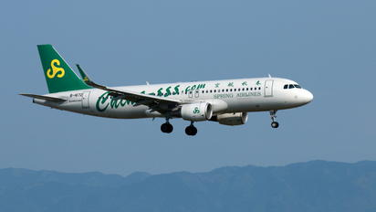 B-1672 - Spring Airlines Airbus A320