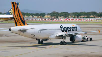 9V-TAN - Tiger Airways Airbus A320