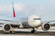 A6-ECR - Emirates Airlines Boeing 777-300ER aircraft