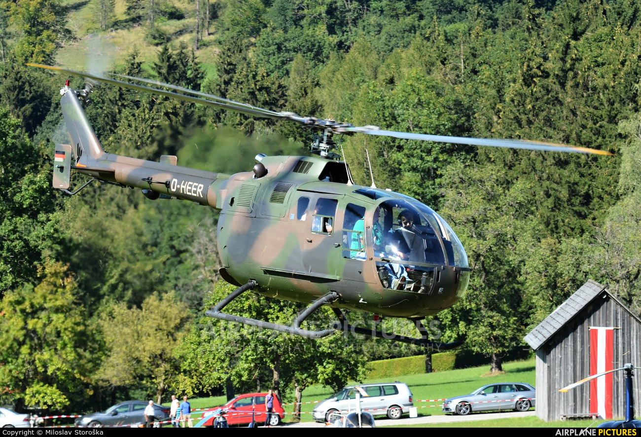 Private D-HEER aircraft at Off Airport - Austria