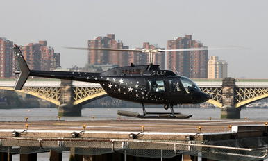 G-LILY - Private Bell 206B Jetranger III