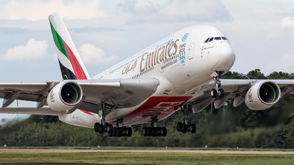 A6-EOI - Emirates Airlines Airbus A380