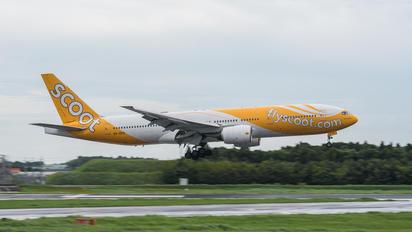 9V-OTC - Scoot Boeing 777-200ER