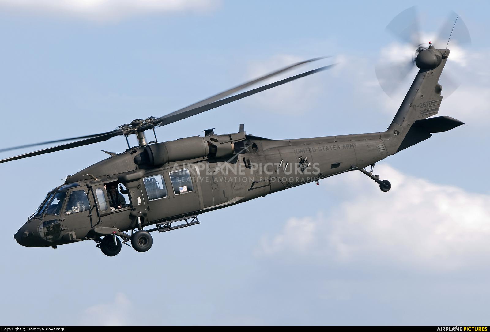 USA - Army 0-26703 aircraft at Tachikawa