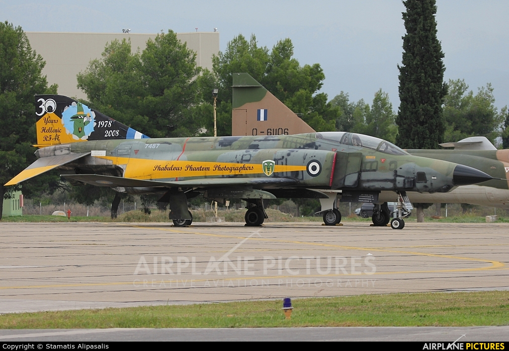 Greece - Hellenic Air Force 7487 aircraft at Tanagra
