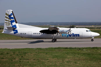 OO-VLM - VLM Airlines Fokker 50