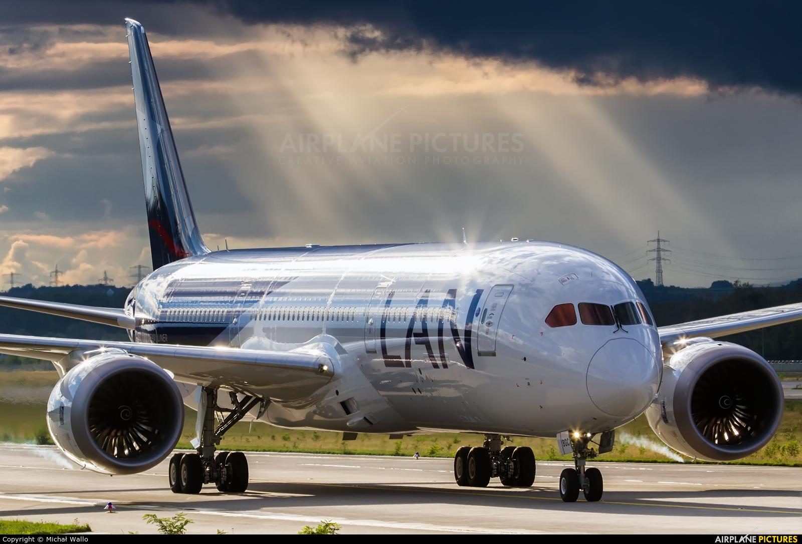 LAN Airlines CC-BGC aircraft at Frankfurt