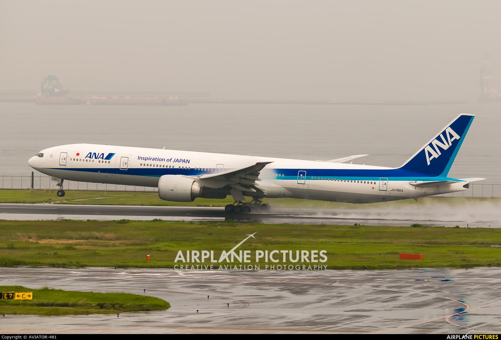 ANA - All Nippon Airways JA786A aircraft at Tokyo - Haneda Intl