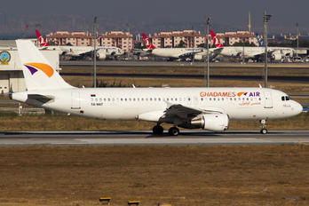 5A-WAT - Ghadames Air Transport Airbus A320
