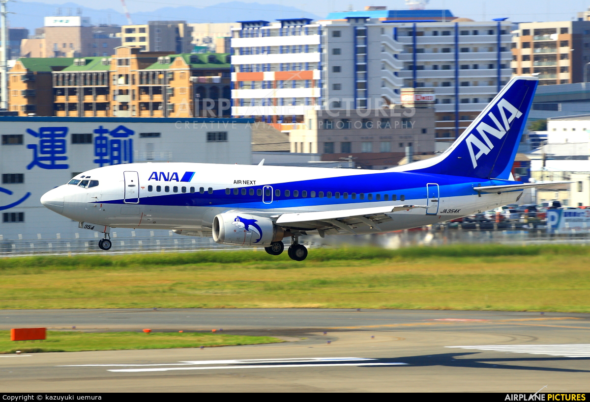 ANA - Air Next JA354K aircraft at Fukuoka