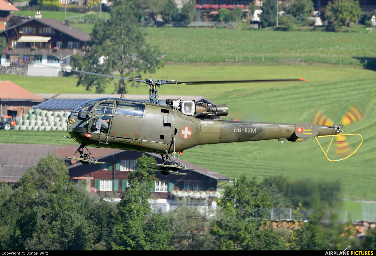HB-XXM - Private Sud Aviation SA-316 Alouette III at St ...