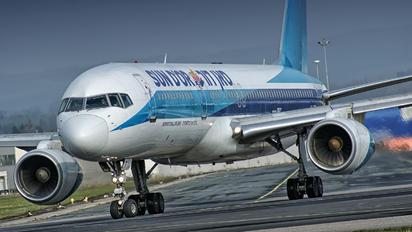 4X-EBT - Sun d'Or International Airlines Boeing 757-200