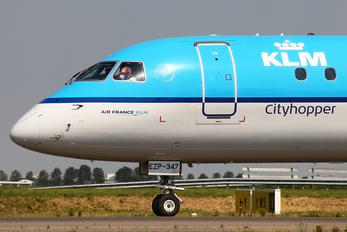 PH-EZP - KLM Cityhopper Embraer ERJ-190 (190-100)