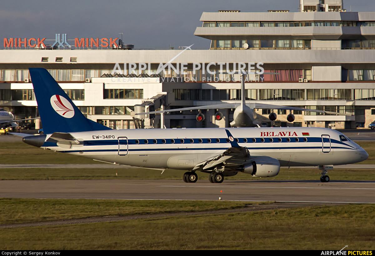 Belavia EW-341PO aircraft at Minsk Intl