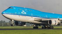PH-BFC - KLM Boeing 747-400 aircraft