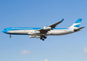 LV-CSF - Aerolineas Argentinas Airbus A340-300 aircraft