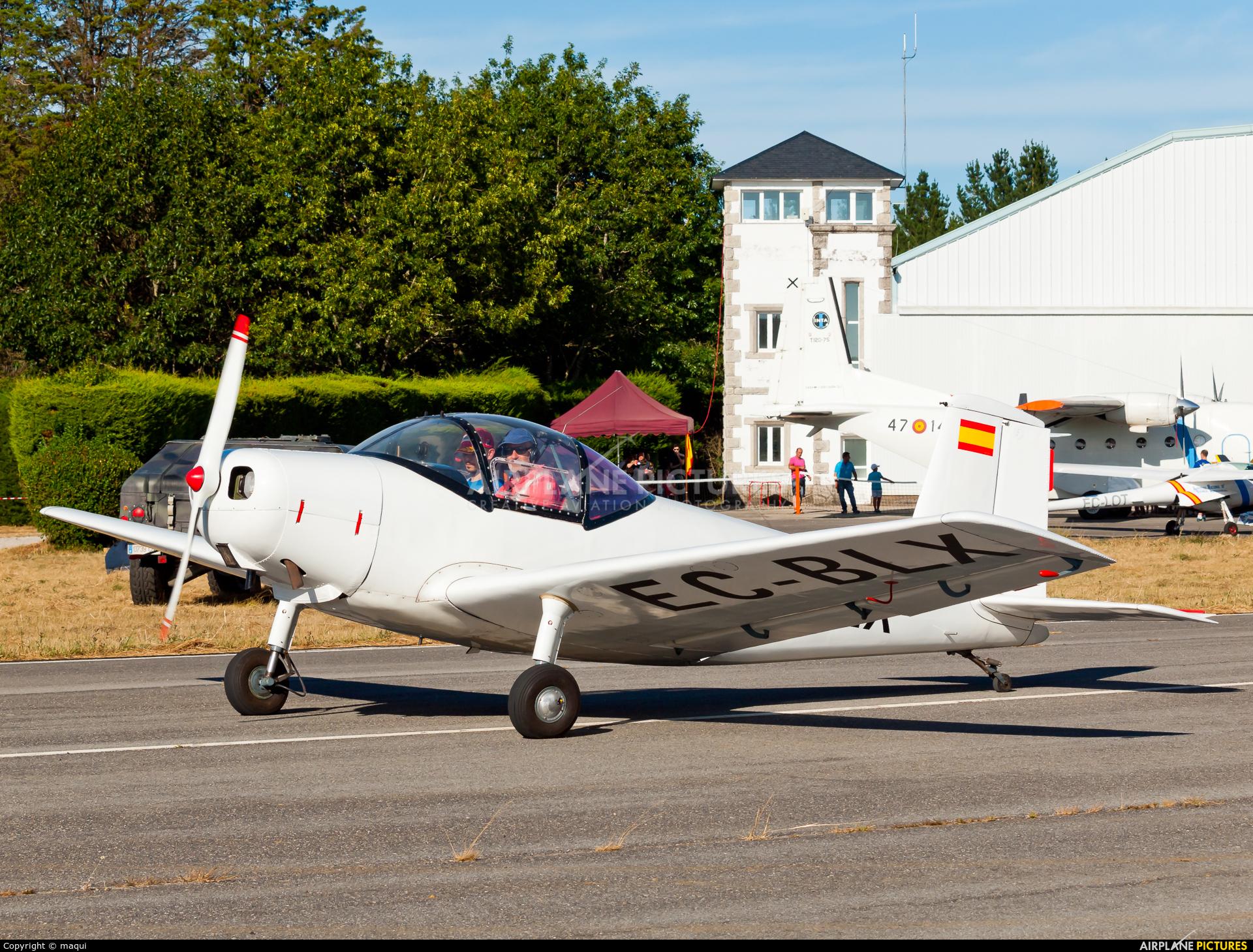 Real Aero Club de España EC-BLX aircraft at Lugo - Rozas
