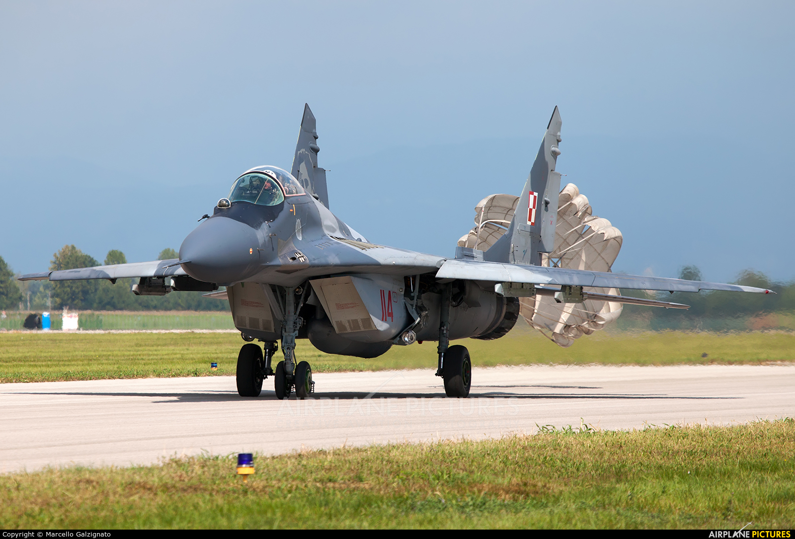 Poland - Air Force 114 aircraft at Rivolto