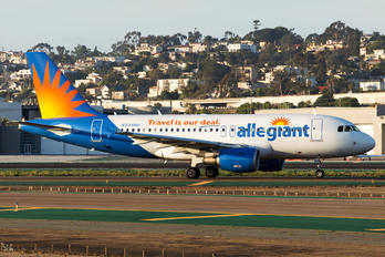 N304NV - Allegiant Air Airbus A319