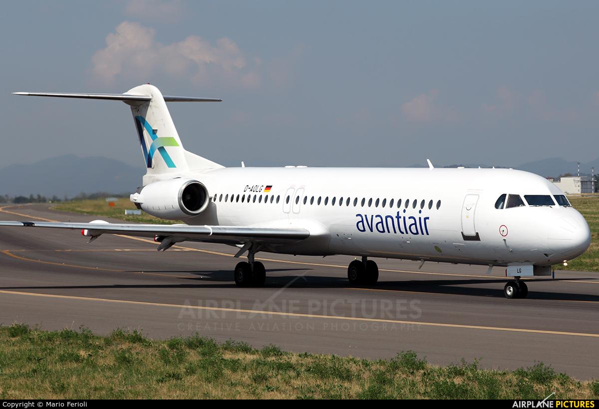 AvantiAir D-AOLG aircraft at Bergamo - Orio al Serio