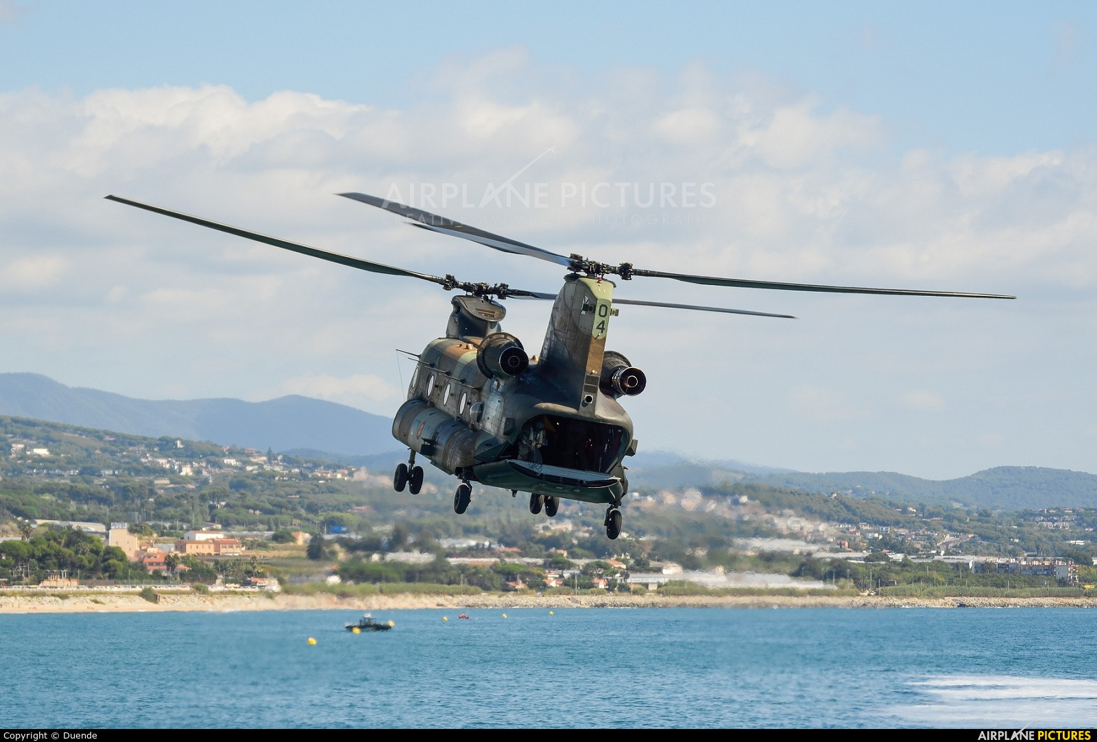 Spain - Air Force HT.17-04 aircraft at In Flight - Spain