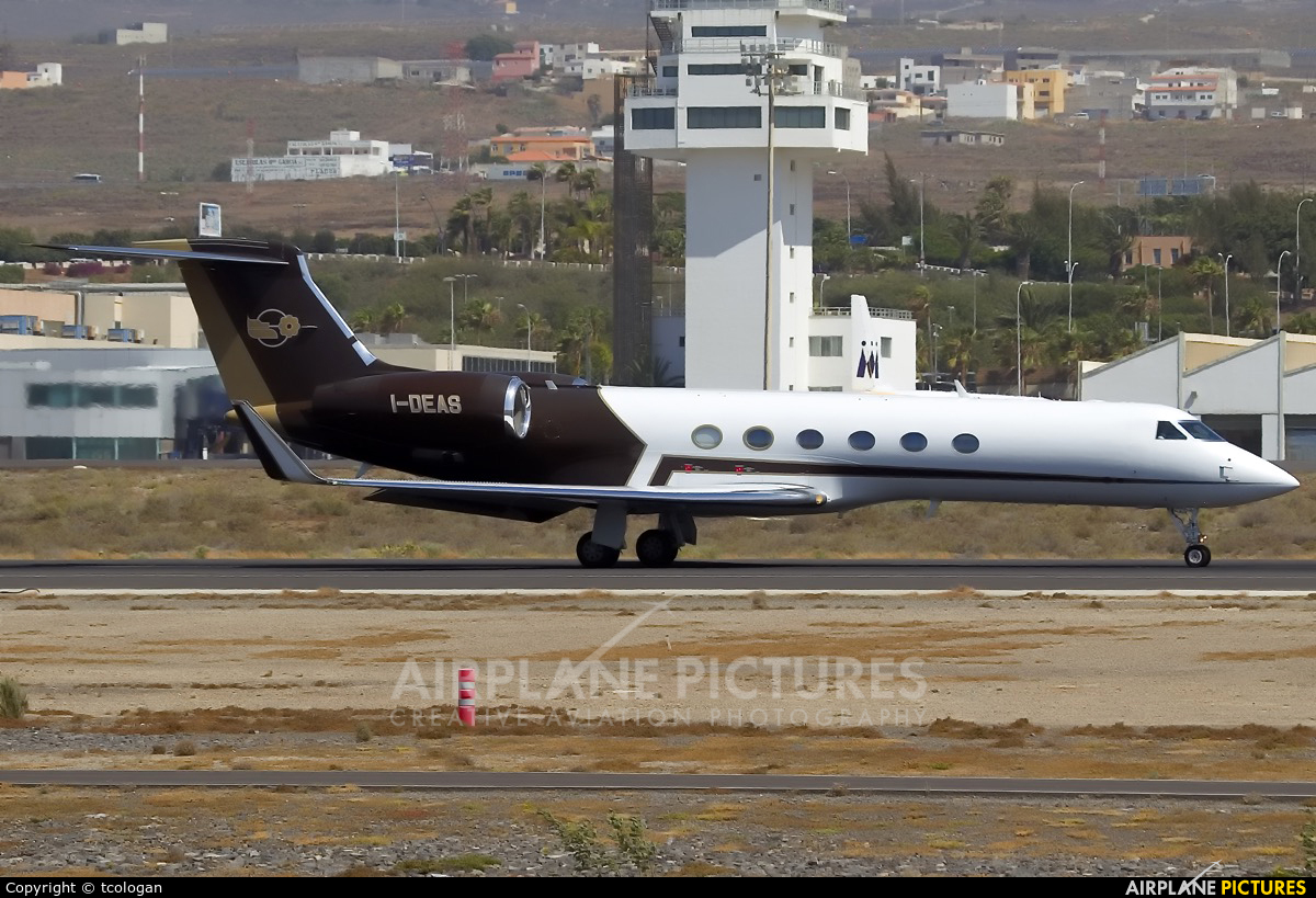 Alba Servizi Aerotrasporti I-DEAS aircraft at Tenerife Sur - Reina Sofia