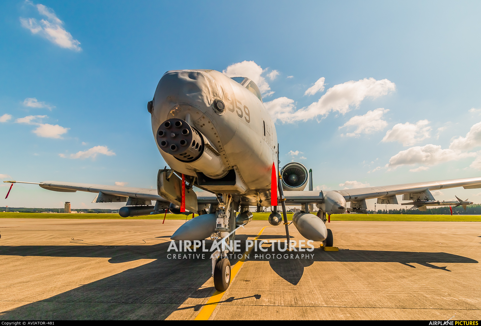USA - Air Force 81-0959 aircraft at Yokota AB