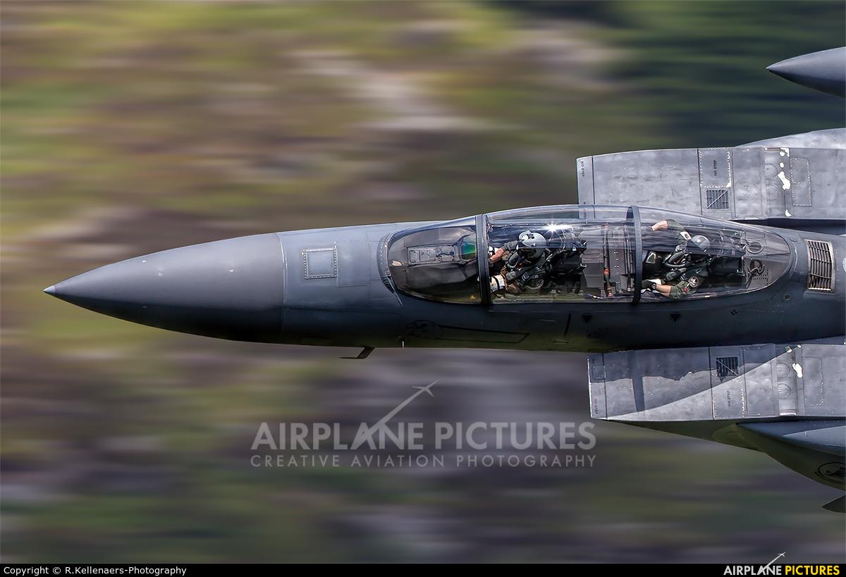 USA - Air Force 91-0335 aircraft at Machynlleth Loop - LFA 7