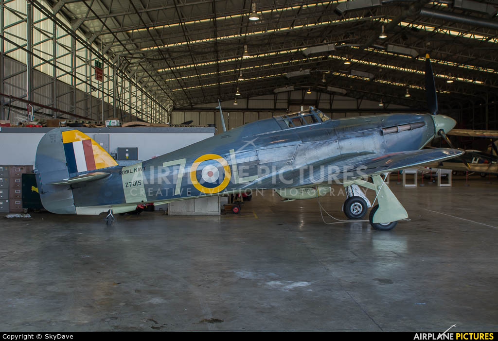 The Shuttleworth Collection G-BKTH aircraft at Duxford