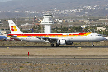 EC-JQZ - Iberia Airbus A321