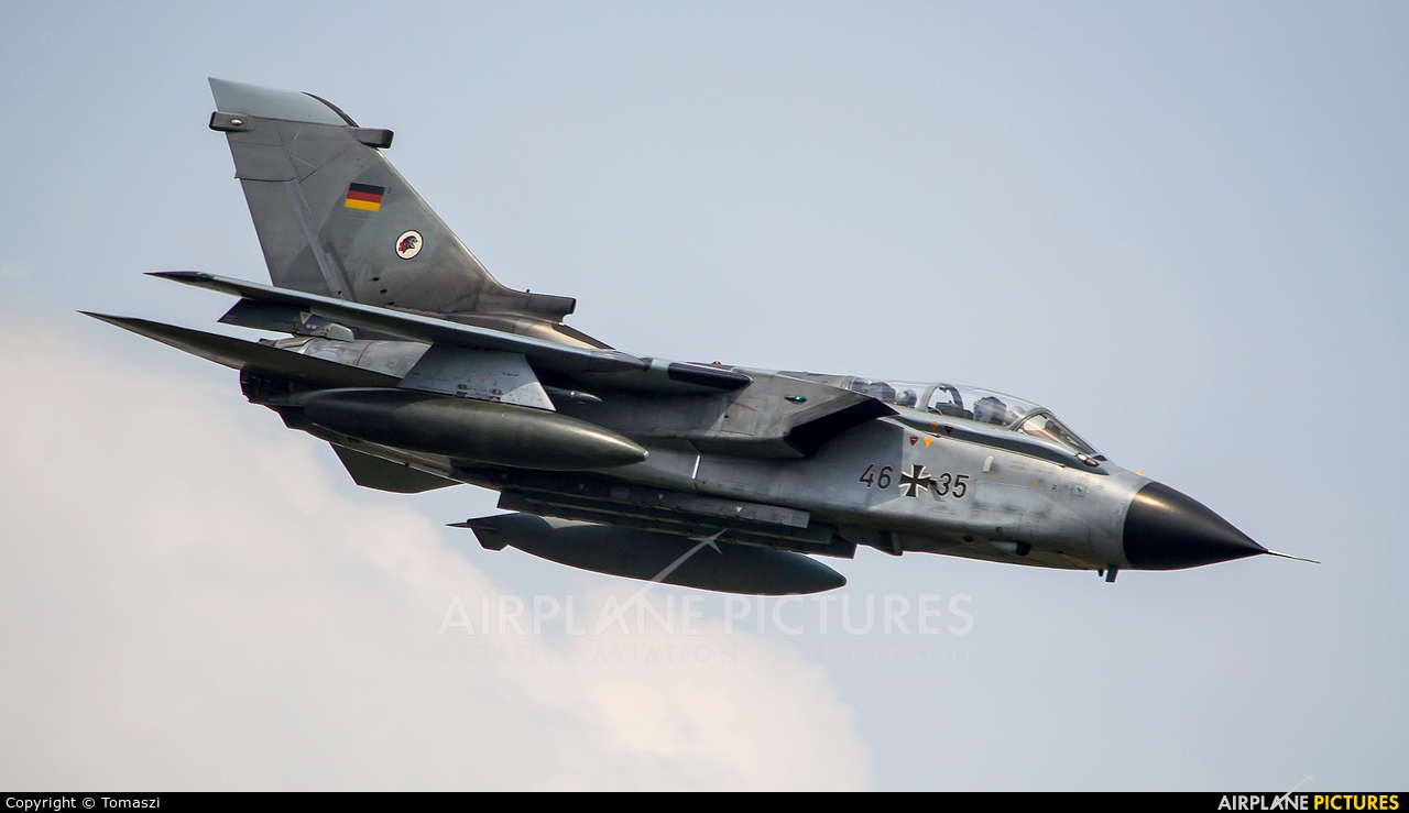 Germany - Air Force 46+35 aircraft at Radom - Sadków
