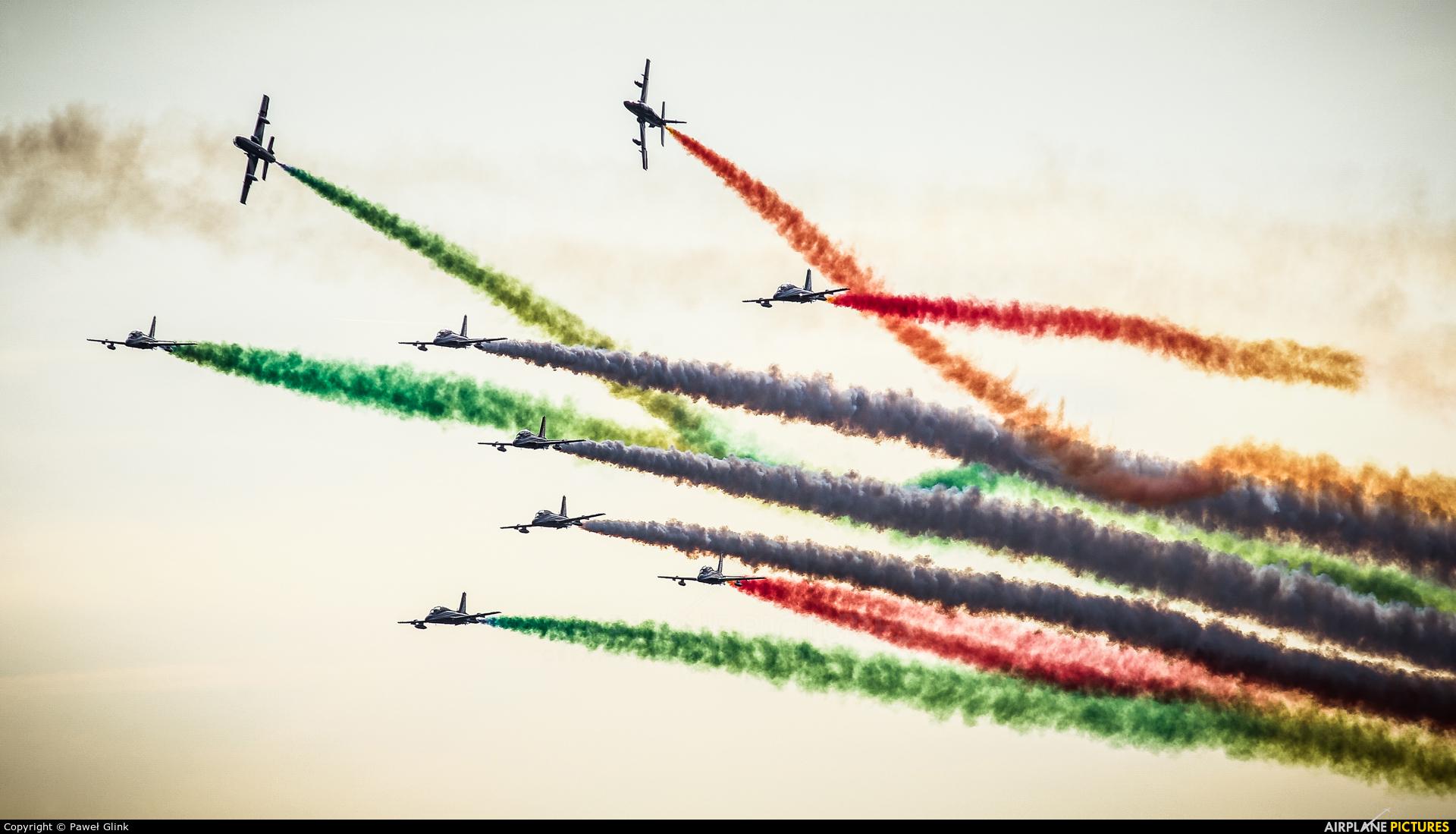 "Italy - Air Force ""Frecce Tricolori"" MM54517 aircraft at Leopoldsburg - Beverlo"