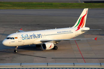 4R-ABP - SriLankan Airlines Airbus A320
