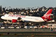 N629VA - Virgin America Airbus A320 aircraft