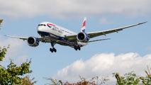 G-ZBJC - British Airways Boeing 787-8 Dreamliner aircraft