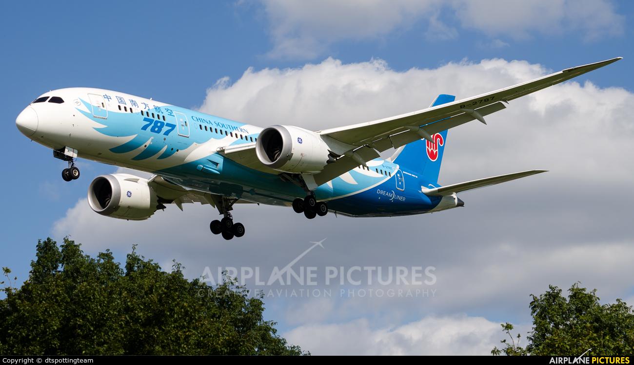 China Southern Airlines B-2787 aircraft at London - Heathrow