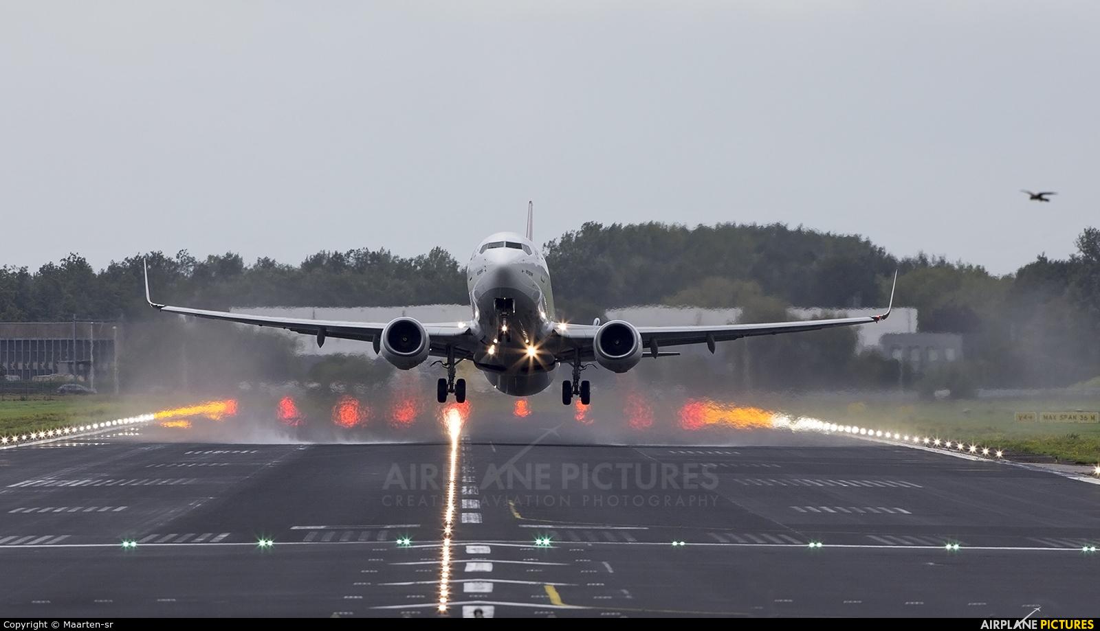 Turkish Airlines TC-JGD aircraft at Rotterdam