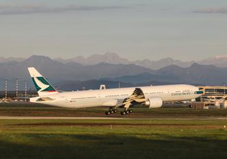B KQW - Cathay Pacific Boeing 777-300ER