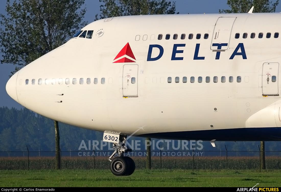Delta Air Lines N662US aircraft at Amsterdam - Schiphol