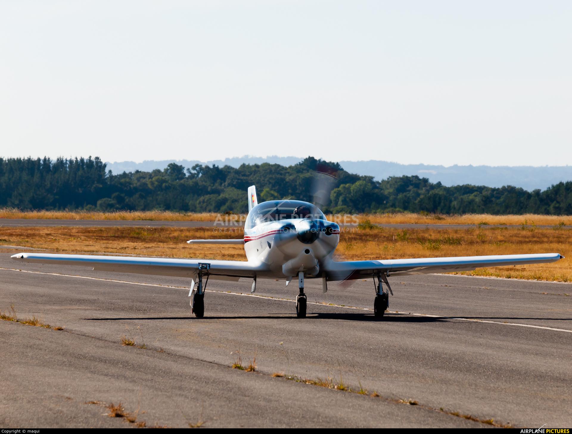Private EC-YKS aircraft at Lugo - Rozas