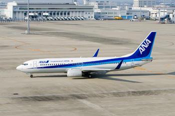 JA80AN - ANA - All Nippon Airways Boeing 737-800