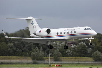 V-II - Netherlands - Air Force Gulfstream Aerospace G-IV,  G-IV-SP, G-IV-X, G300, G350, G400, G450