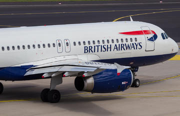 G-EUYI - British Airways Airbus A320