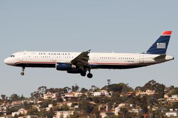 N537UW - US Airways Airbus A321