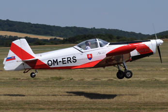 OM-ERS - Aeroklub Bratislava Zlín Aircraft Z-526AFS