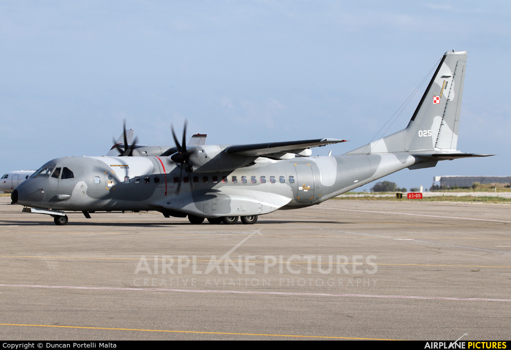 Poland - Air Force 025 aircraft at Malta Intl