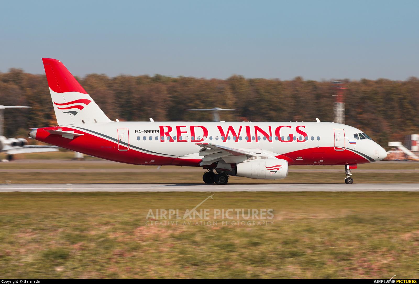 Red Wings RA-89008 aircraft at Kazan
