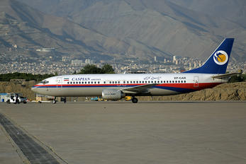 EP-CAR - Caspian Airlines Boeing 737-400
