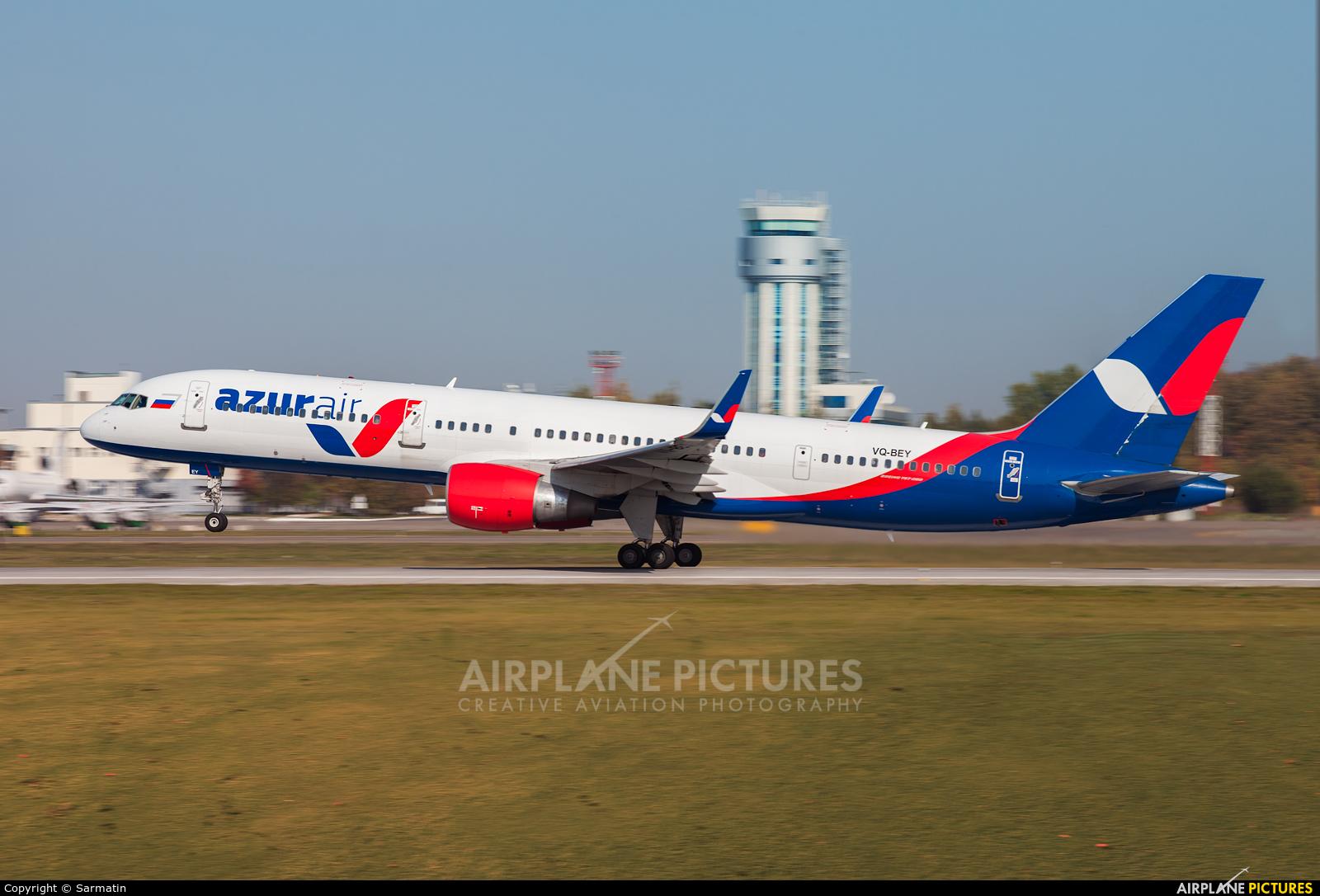 AzurAir VQ-BEY aircraft at Kazan
