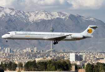 EP-CPV - Caspian Airlines McDonnell Douglas MD-83